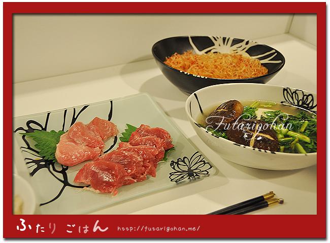 豆腐と椎茸の中華味あんかけ