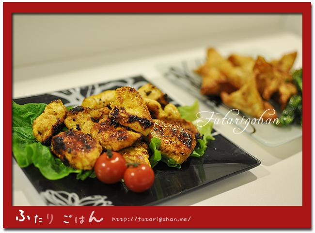 【インド料理】タンドリーチキン&サモサ