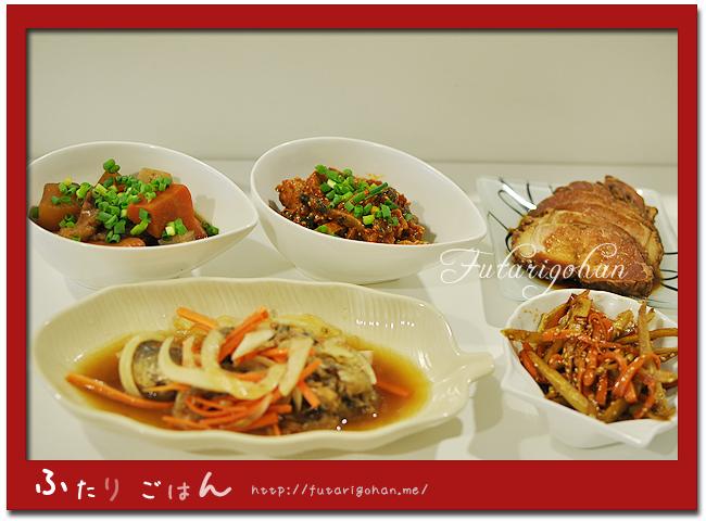 牛筋と根野菜の煮込み&鰹の韓国風和え