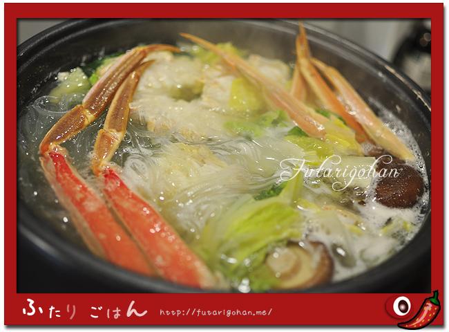 タラバ蟹鍋と、新年中華