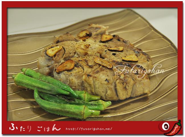 マグロの尾肉ステーキ