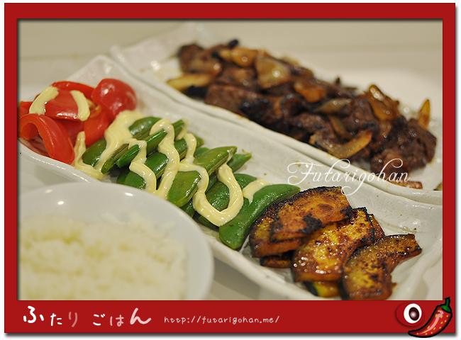 焼肉・蒸し野菜