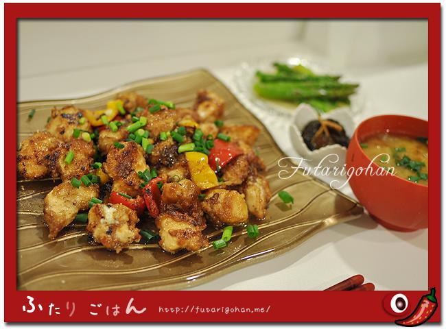 鶏肉のマヨポン炒め
